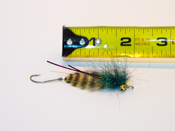Inside Bender steelhead fly picture