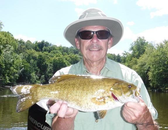 Muskegon River Smallmouth Bass