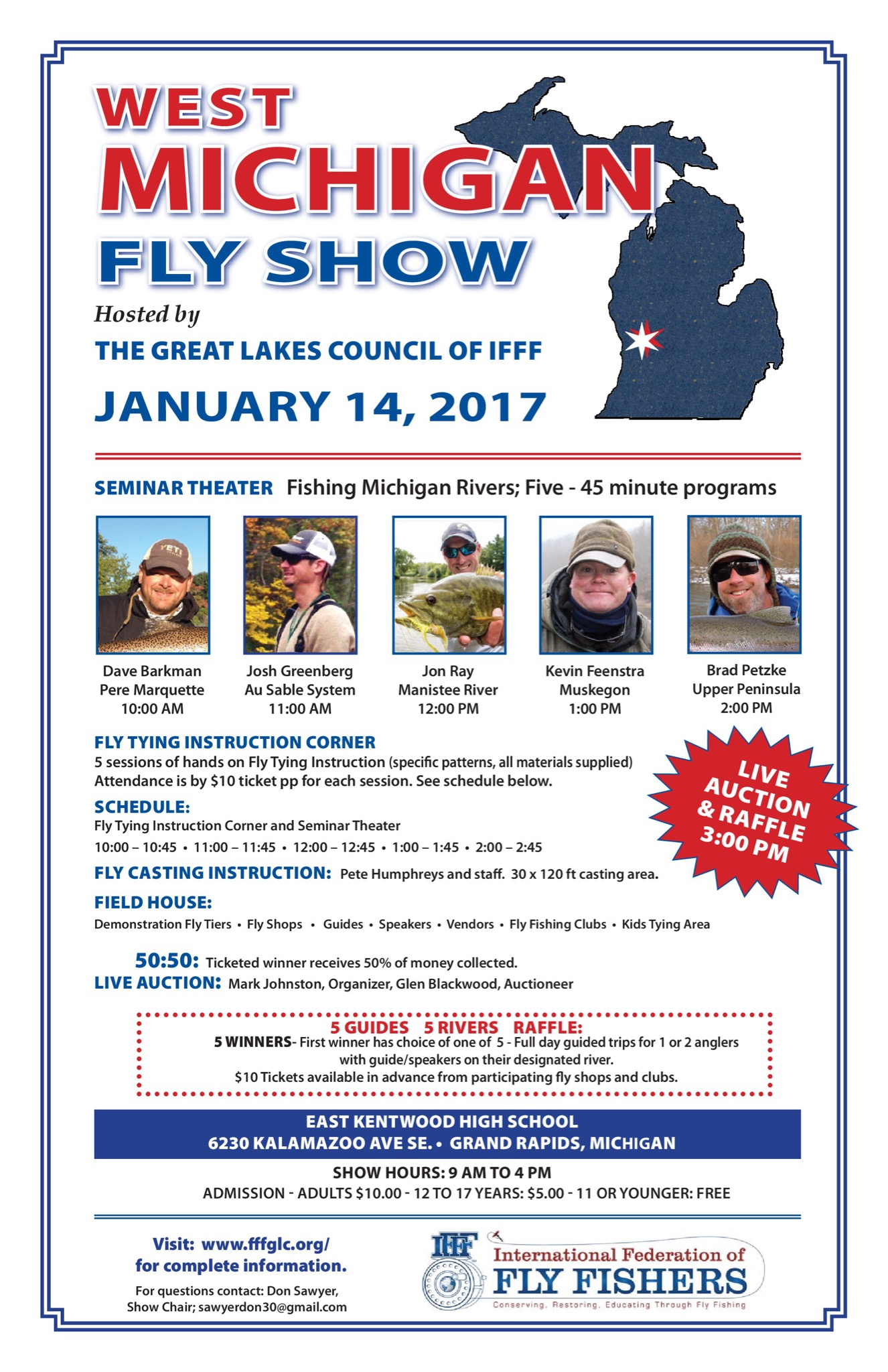 West Michigan Fly Show | FEENSTRA GUIDE SERVICE